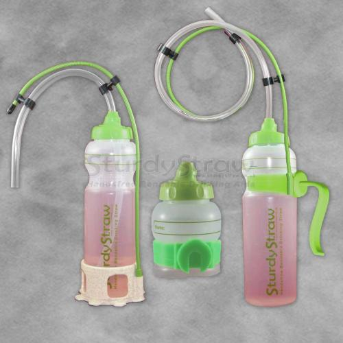 Sturdy Drinking Bottle - Hands Free Drinking Aid